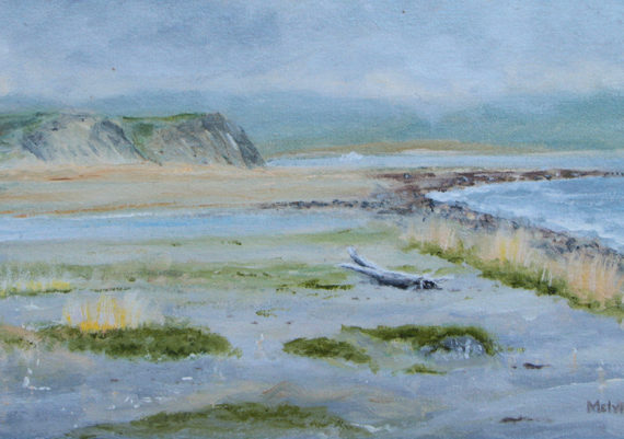 Beagle Passage Beach (Plein Air)