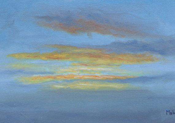 Drake Passage Sunset (Plein Air)